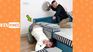 Funny videos 2021 ✦ Funny pranks try not to laugh challenge P188