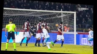 Bologna-Napoli 1-7 del 4 febbraio 2017 - Sintesi Sky