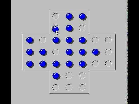 How To Solve The Peg Solitaire Puzzle