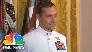 President Donald Trump Presents Medal Of Honor To Navy SEAL For 2002 Afghanistan Rescue | NBC News