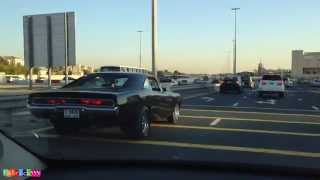 Vin Diesel's 1970 Dodge Charger from Fast & Furious in Dubai (not exactly but close)