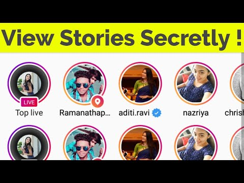 How To View/See Instagram Stories Without Letting Them Know-Watch Story Anonymously-2018