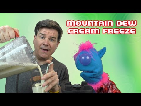 Mountain Dew Cream Freeze:  3 Ingredient Recipes