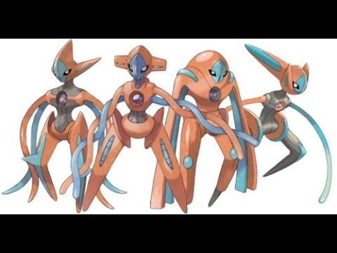 NEW 2017- PROJECT POKEMON DEOXYS FORMS!!!