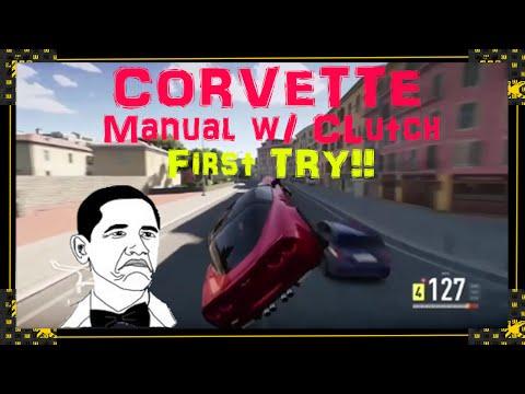 Forza Horizon 2 - Corvette Manual w/ Clutch First Time! (Forza Horizon 2 Xbox One Gameplay)