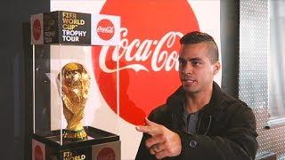 2018 FIFA WORLD CUP TROPHY TOUR   David Lopez