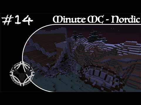 Minute Minecraft - Time Lapse -Nordic Village - Ep.14