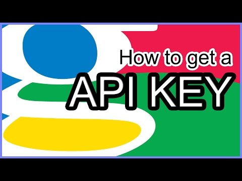 How to Get A Google API Key 2016 Updated!!