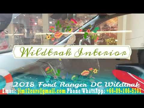 2018 Ford Ranger Wildtrak Orange FX Black Thailand On Sale Cheapest Price Review Ford PIckup