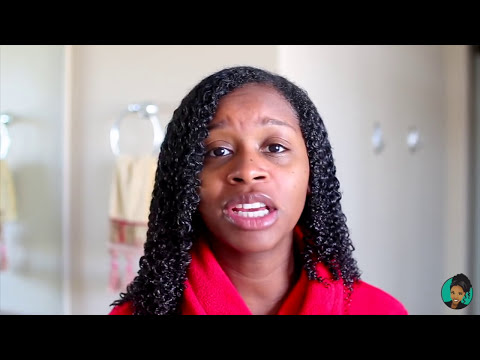 Plopping   How I Air-Dry My Wash n Go in 1 Hour