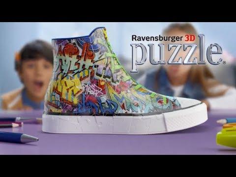 Graffiti Sneaker 3D Puzzle TV Ad 2017