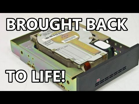Method to revive hard drives from the 80s