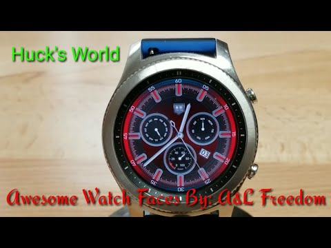 Gear S3 Watch Face by A&L Freedom A Must Download
