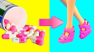 DIY Barbie Dresses   Making Easy No Sew Clothes for Barbies Dolls Creative Fun for Kids