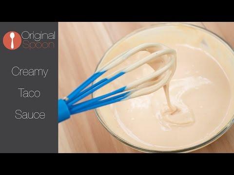 Creamy Taco Sauce (Dead Simple)