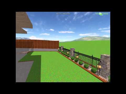 full new home landscape design