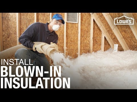 How to Install Blown-in or Loose Fill Insulation
