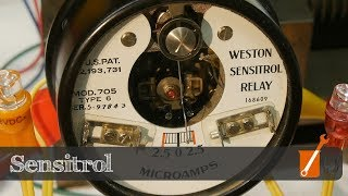 Vintage electrical tech - Weston Sensitrol Relay