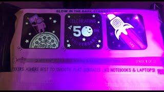 Apollo 50th Anniversary Oreo Cookies!  Glow In The Dark!