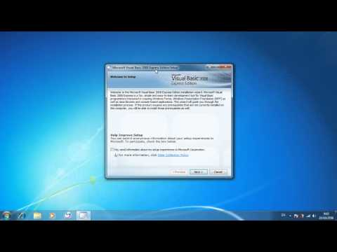 สอนโหลด Microsoft Visual Basic 2008 Express Edition + Crack