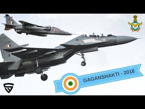 Indian Air Force Exercise Gaganshakti 2018 - Official Video