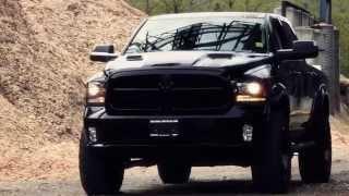 """Lifted Dodge Ram 1500 Mopar Kelowna - """" The Reaper """" Kcd Customs"""