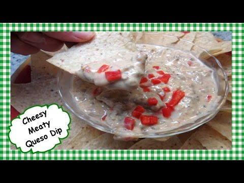 Tex Mex Chile Con Queso Dip ~ Chili Queso Recipe