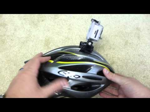 How to Mount a GoPro Camera on a Bicycle Helmet