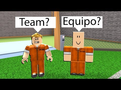 PLAYING ROBLOX IN A DIFFERENT LANGUAGE 3