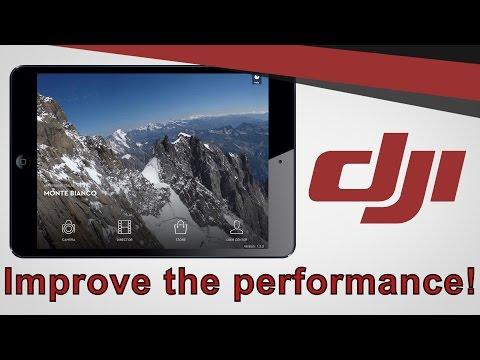 DJI Go App | Performance and transmission improvement