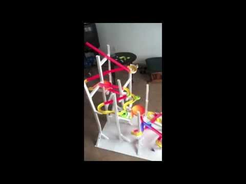 Paper Roller Coaster Physics Project