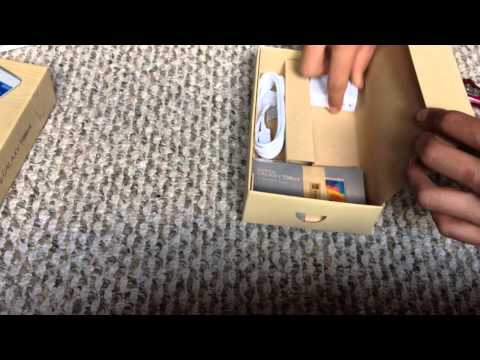 Unboxing of samsung galaxy tab 4 white