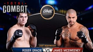 Total Combat | Roger Gracie vs James McSweeney | Full Fight Replay