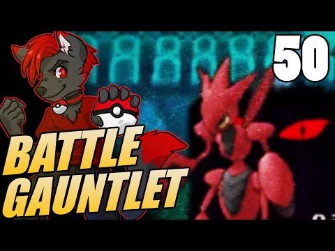 ORAS Battle Gauntlet #50 LIVE Omega Ruby & Alpha Sapphire Single Battle - Scizor Backup