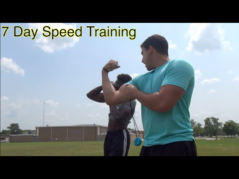 7 Days To Run Faster - 2 Speed Training Drills (Bodyweight)