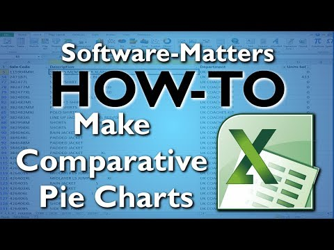 How to Make a Comparative Pie Chart in Excel with VBA