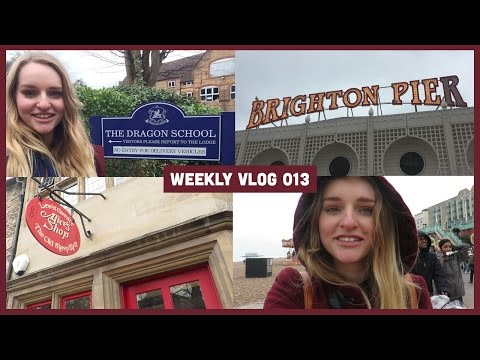 Easter weekend in Oxford and Brighton | London vlog 13