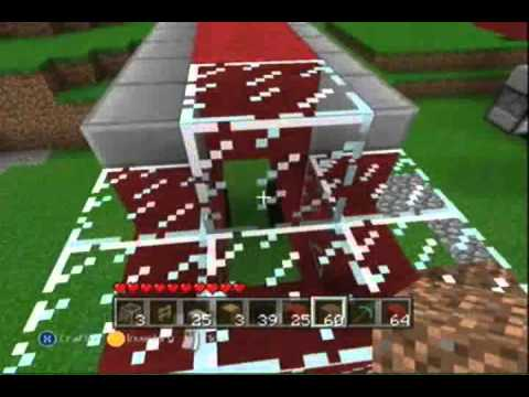 Minecraft Xbox 360 How To Make A Working Attack Helicopter