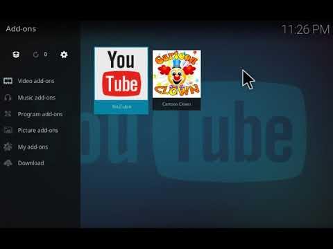 How to install Cartoon Clown add-on for Kodi