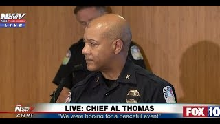 Charlottesville Police Chief Al Thomas:
