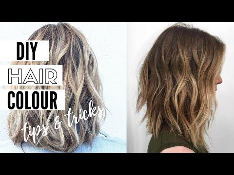 How To Color Your Hair At Home - Home Hair Dye Tips And Tricks