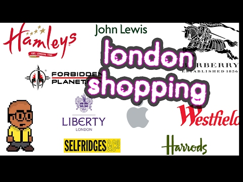 The Beginners Guide To London SHOPPING