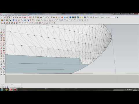 modeling a boat hull in sketchup