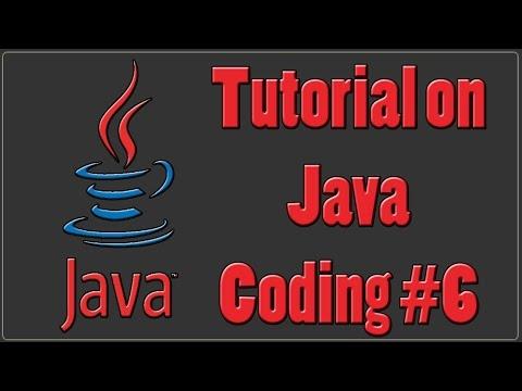 Java Programming Tutorial  Part 6 | Getting User Input