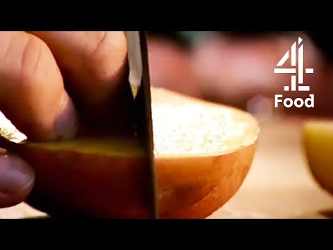 Cookalong Live | How To Chop Potatoes into Wedges |  Gordon Ramsay on Channel 4