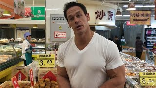 John Cena in China: Supermarket shopping in Yinchuan
