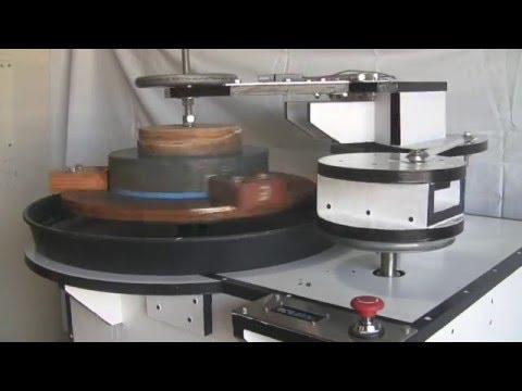 telescope mirror grinding / polishing machine with tachometer