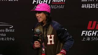 UFC Fight Night Shanghai: Q&A with Jedrzejczyk, Masvidal, & Faber