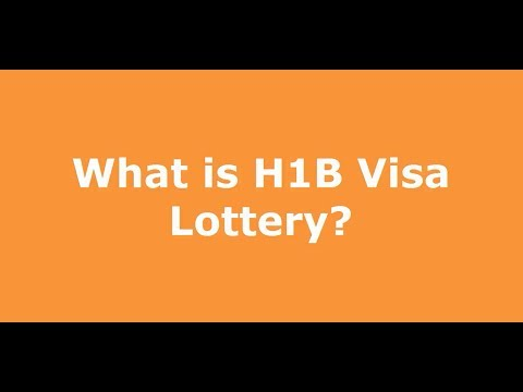What is H1B Visa Lottery, Random Selection Process by USCIS?