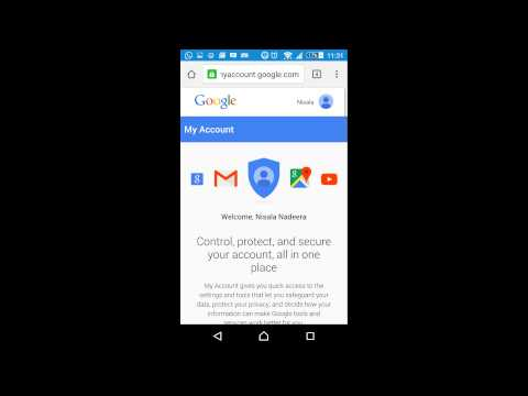 How to change gmail password using mobile part 1